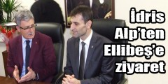 İdris Alp'ten Ellibeş'e ziyaret